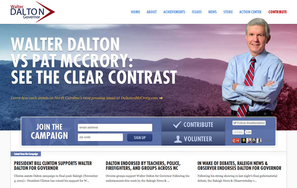 Walter Dalton for Governor