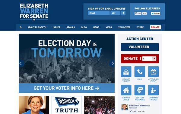Elizabeth Warren for Senate
