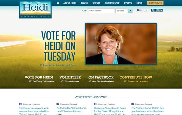 Heidi for North Dakota