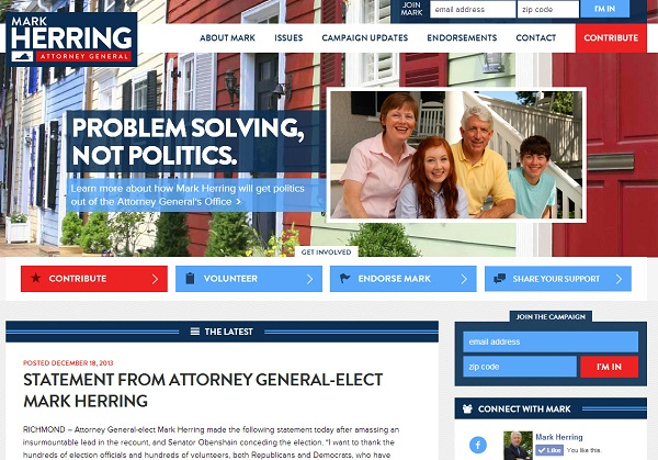 Mark Herring Website