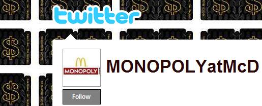 Mcdonalds Monopopy on Twitter