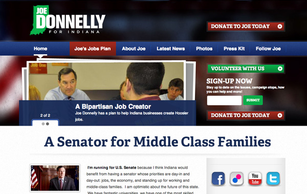 Joe Donnelly for Indiana