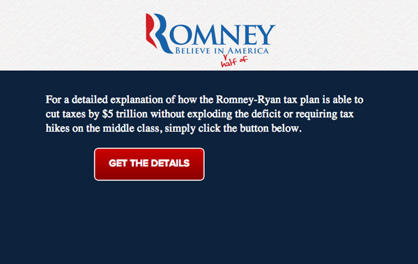 Romney Tax Plan