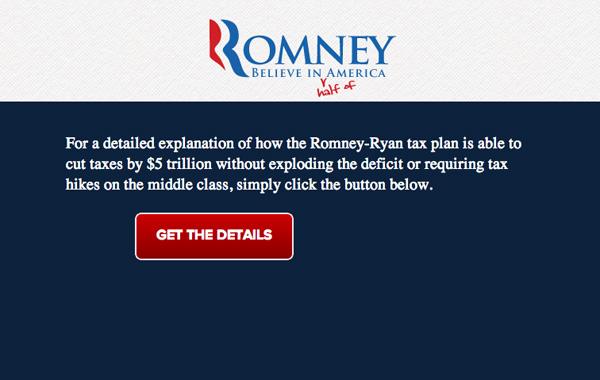 Romney Tax Plan
