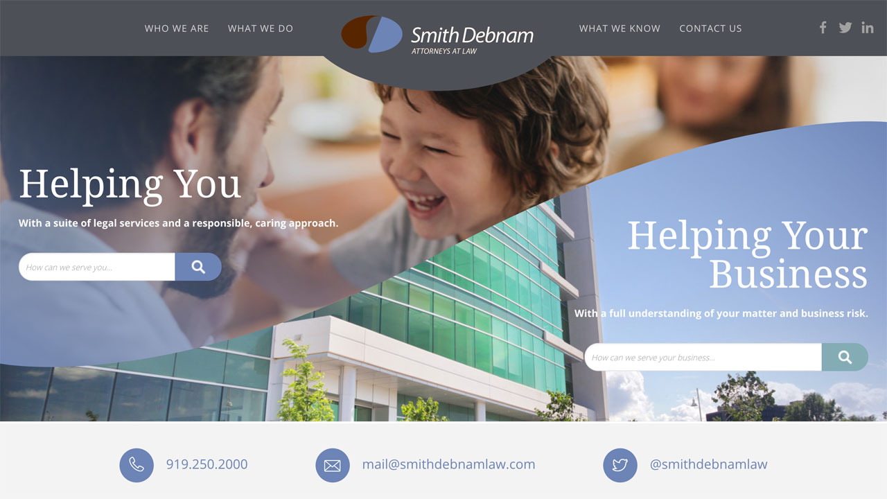 Smith Debnam Homepage