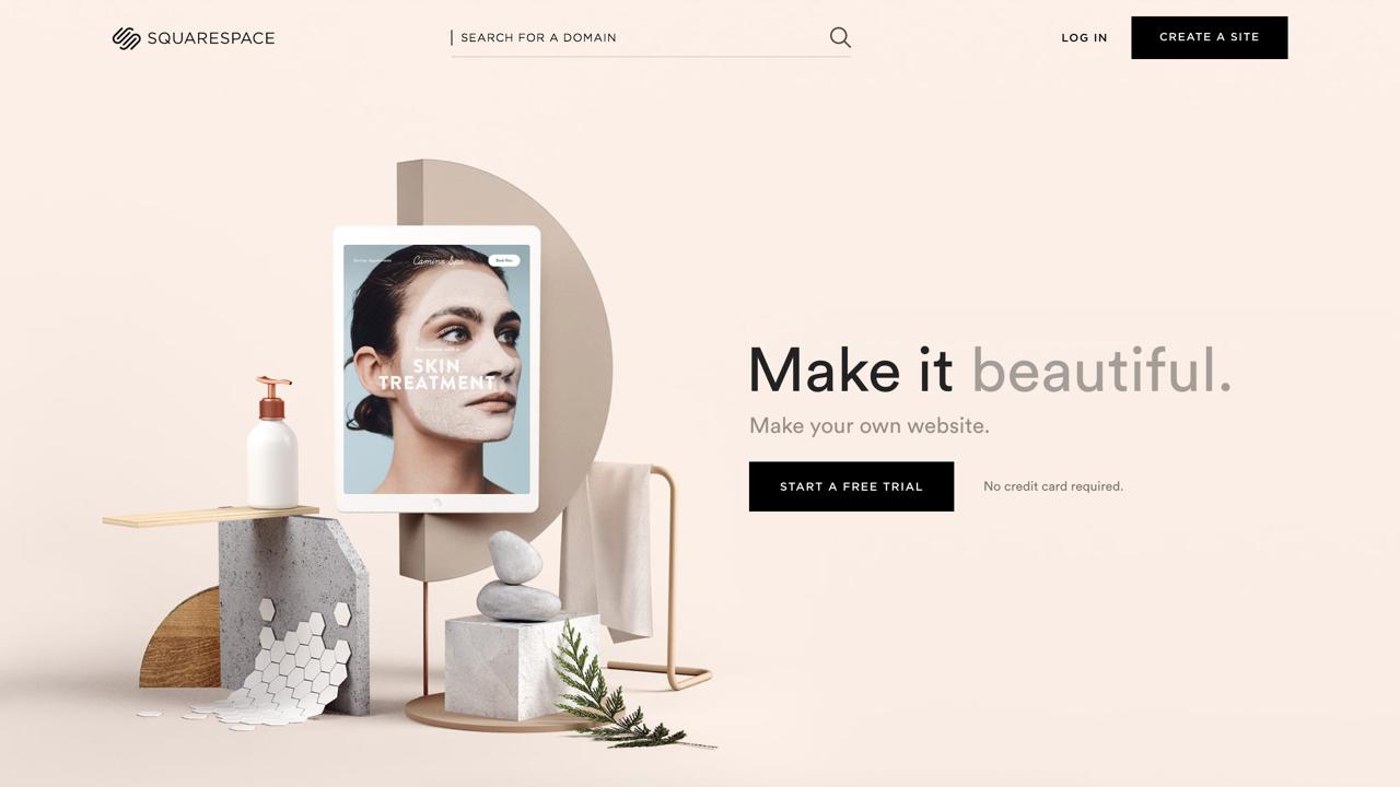 Las imágenes grandes no pasan de moda y por eso son parte de las tendencias de diseño web 2019