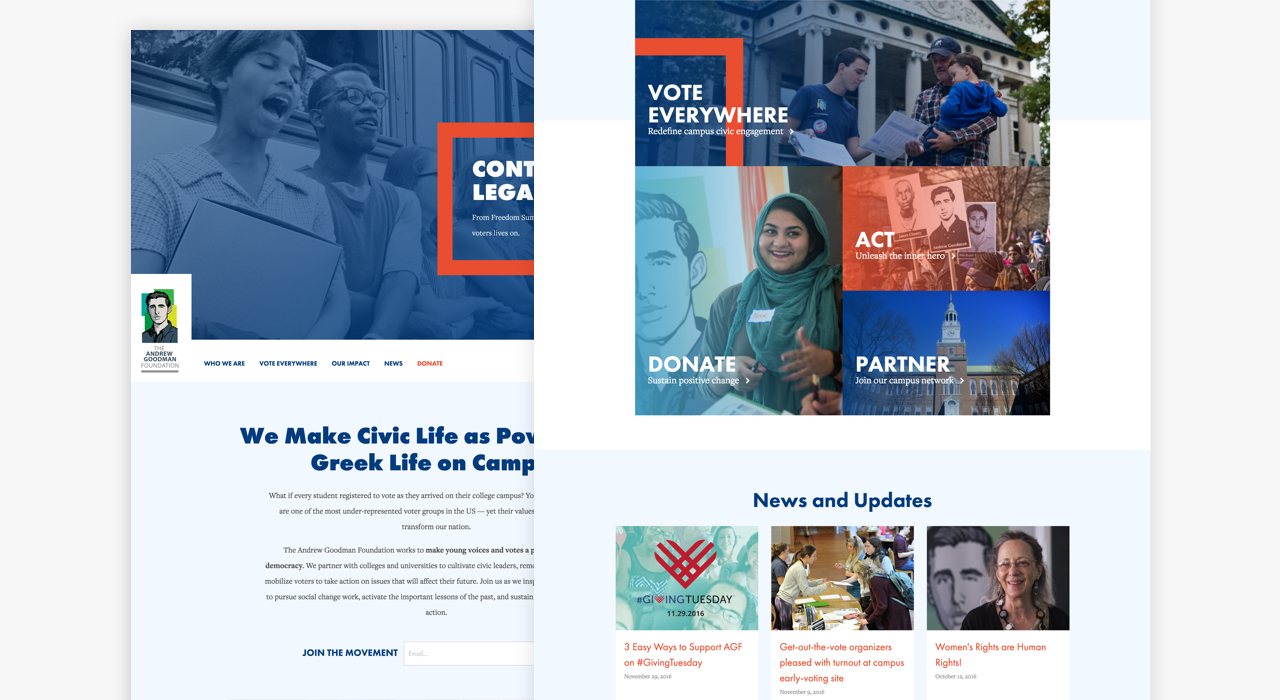 Andrew Goodman Foundation Homepage