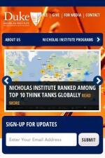 Duke Nicholas Institute - New Media Campaigns