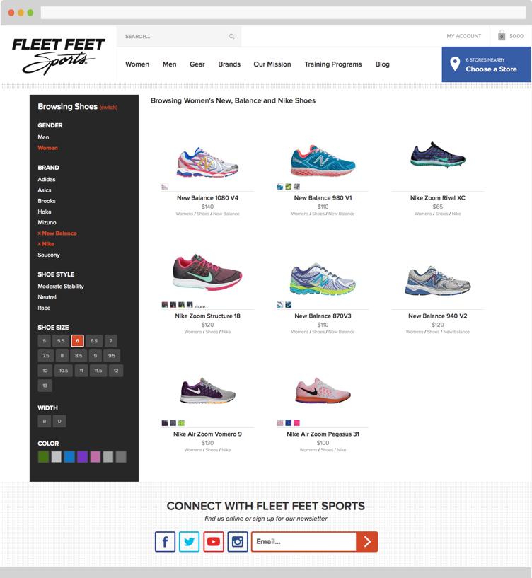 Fleet Feet Shoe Sale