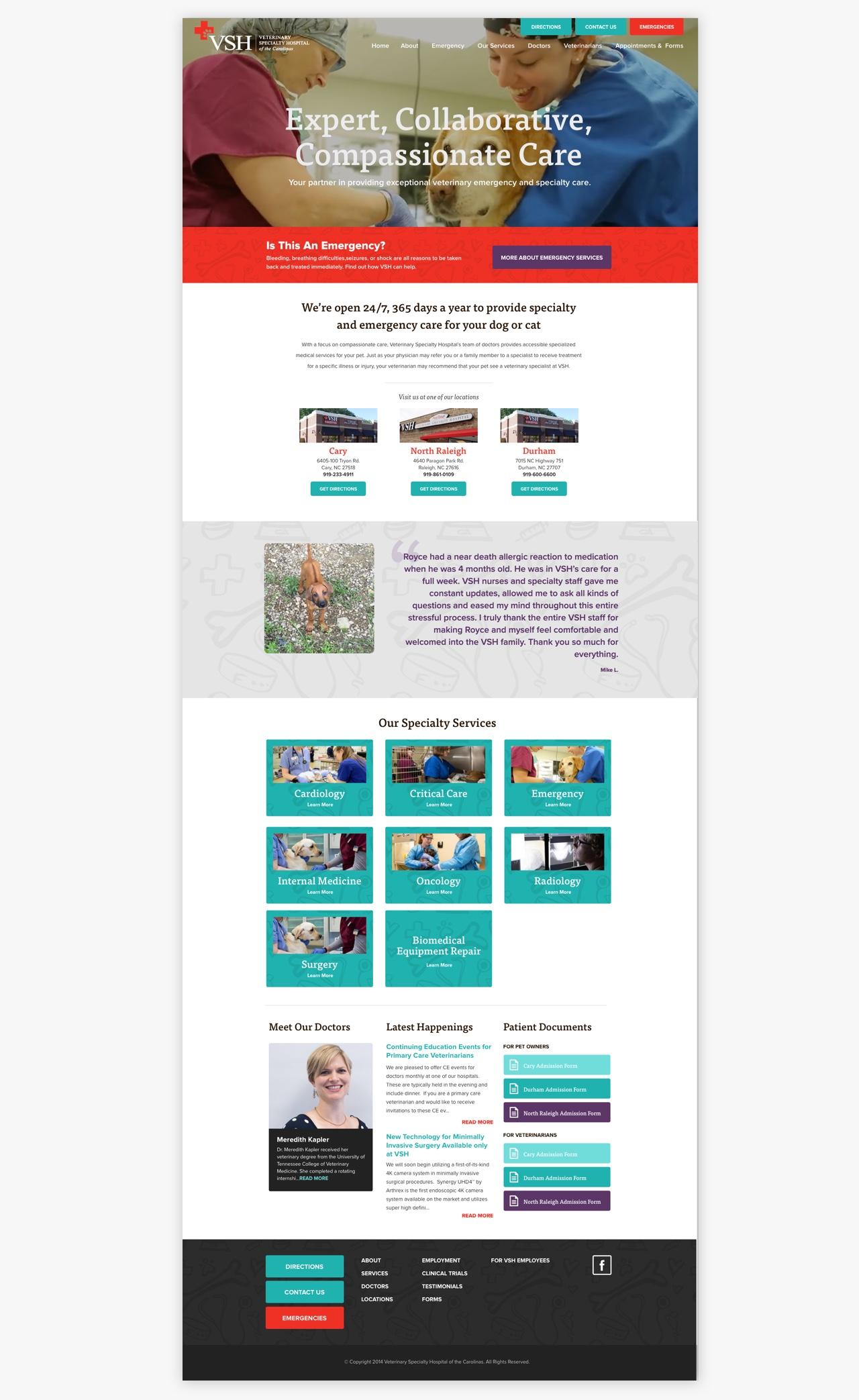 VSH Homepage