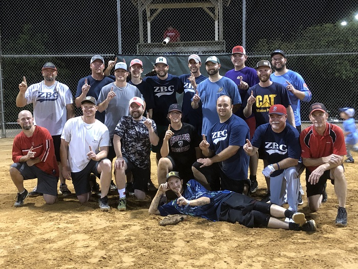 2019 Church Softball Champions