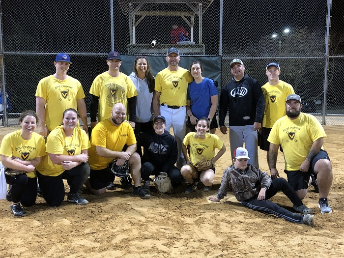 2019 Co-Ed Softball Champions