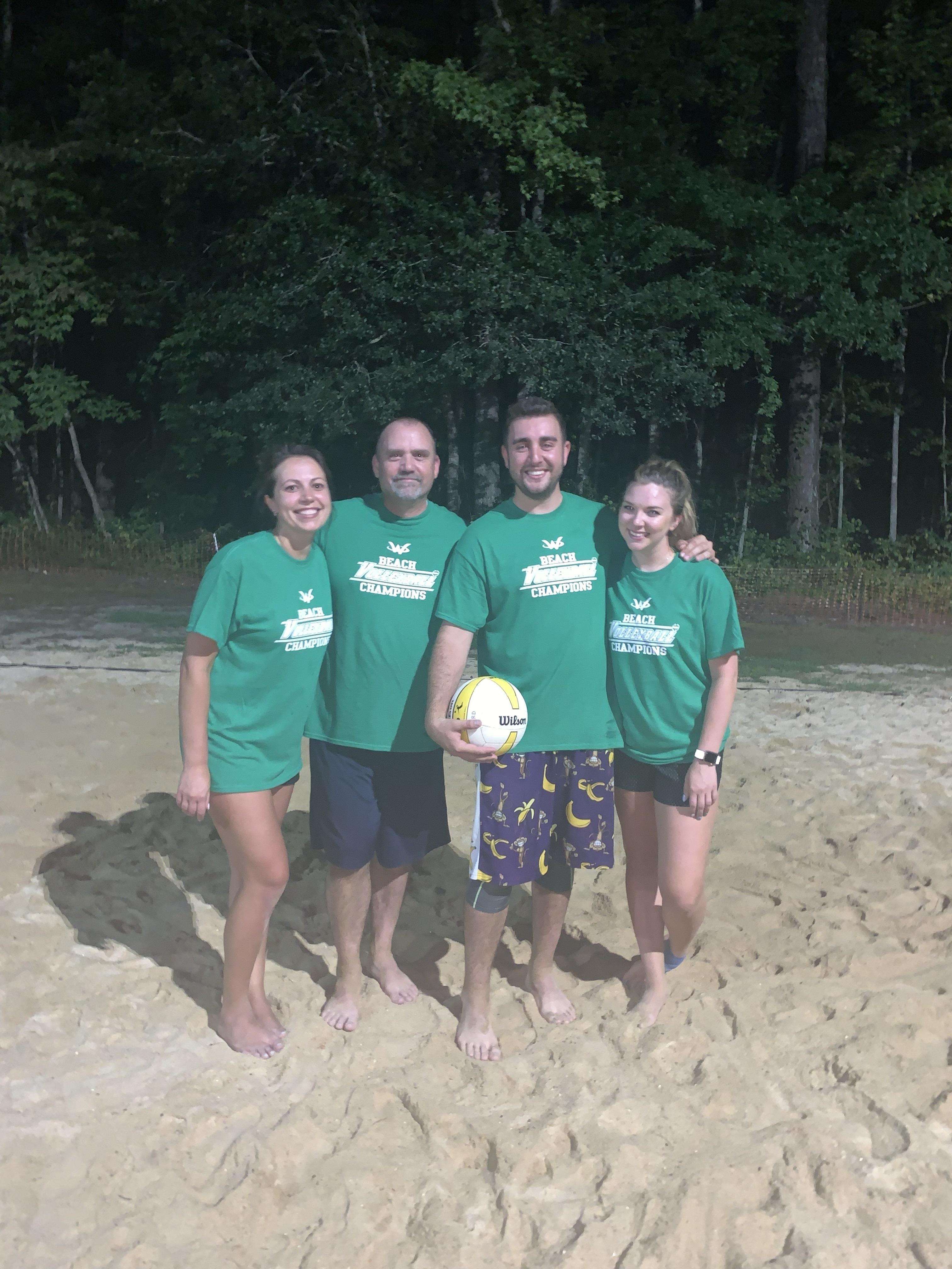 2019 Beach Volleyball Champions
