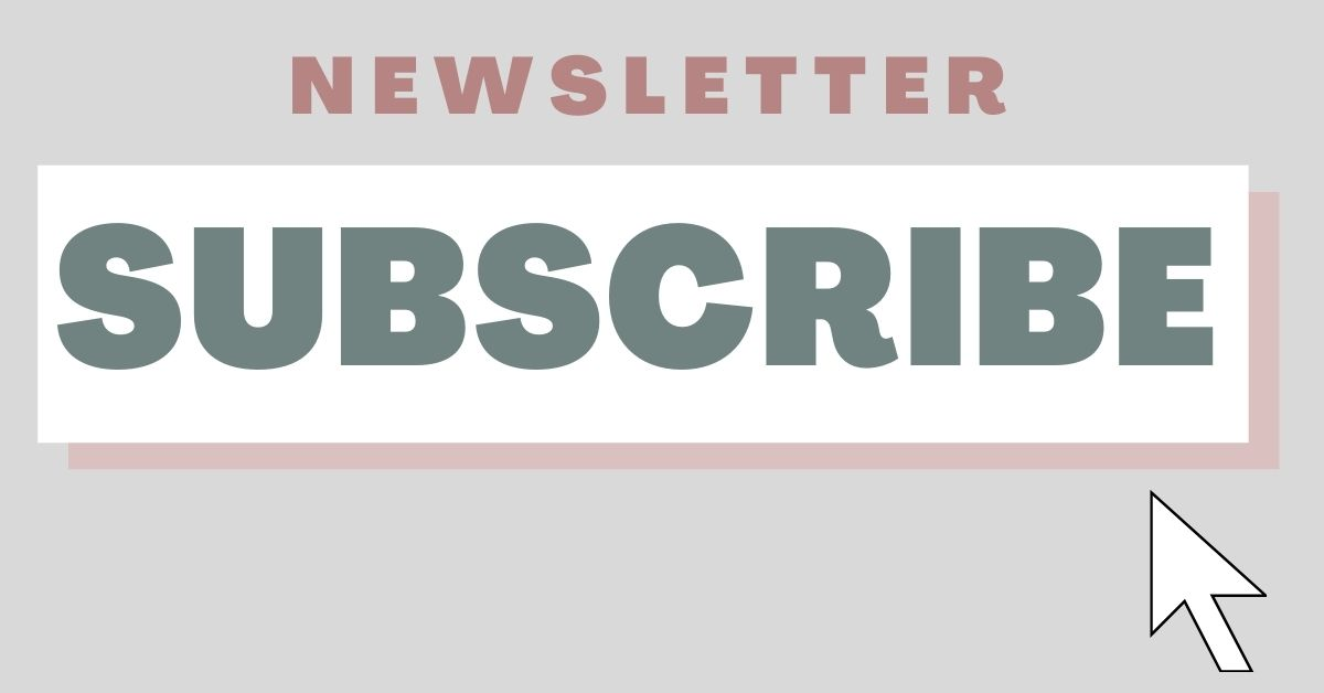 Button for Newsletter Signup
