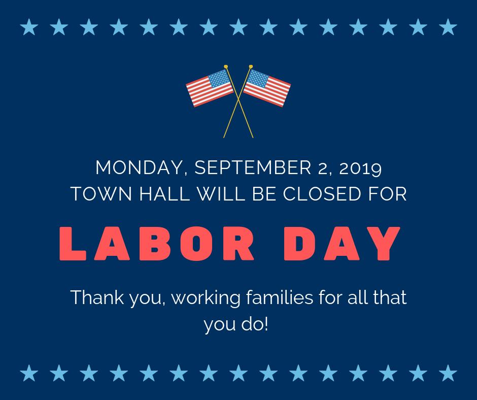 Labor Day Closed
