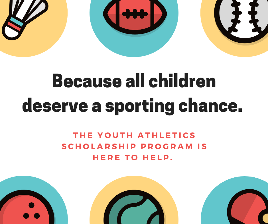 Every Child Deserves a Sporting Chance Ad