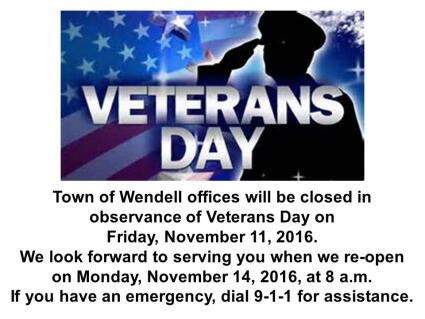 2016 Veterans Day