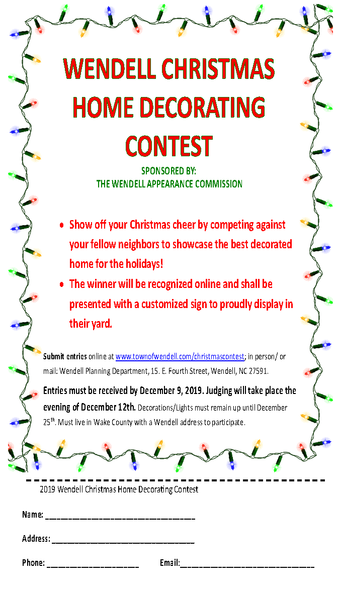 2029 Christmas Flyer & Entry Form PNG