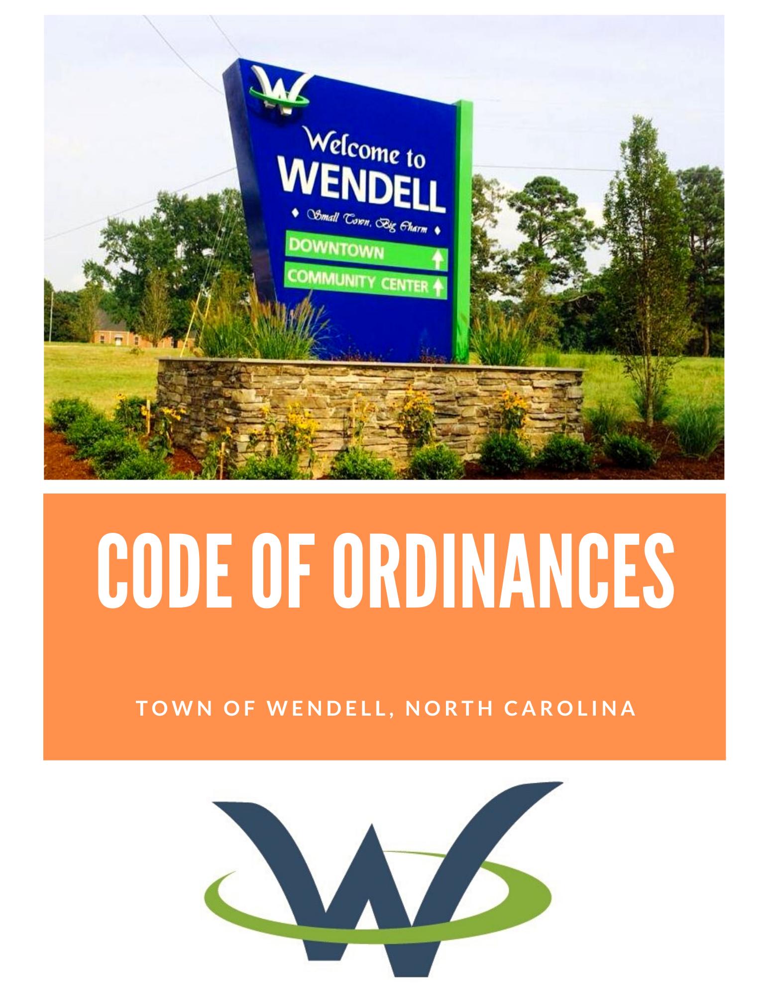 Code of Ordinances