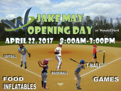 Jake May Opening Day