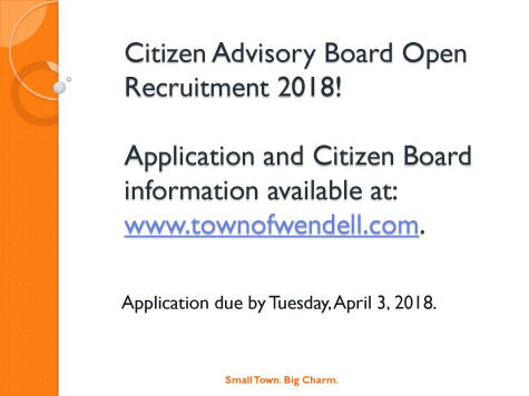 2018 Citizen Adv Board Recruitment