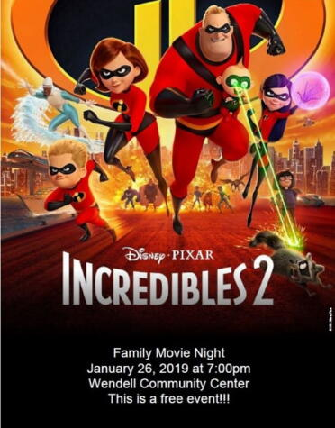 Family Movie Night Incredibles 2