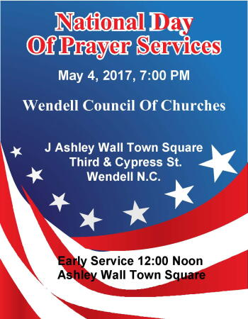 National  Day of Prayer - 2017