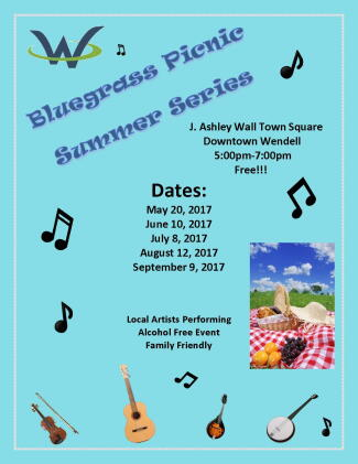 Bluegrass Picnic Series 2017
