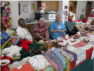 East Wake Senior Center Craft sale