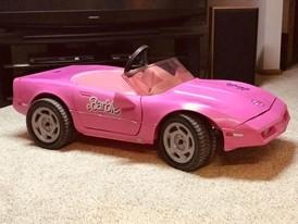 Pink Barbie Corvette