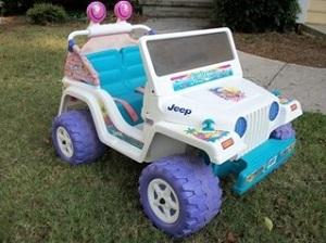Barbie Jeep Power Wheels