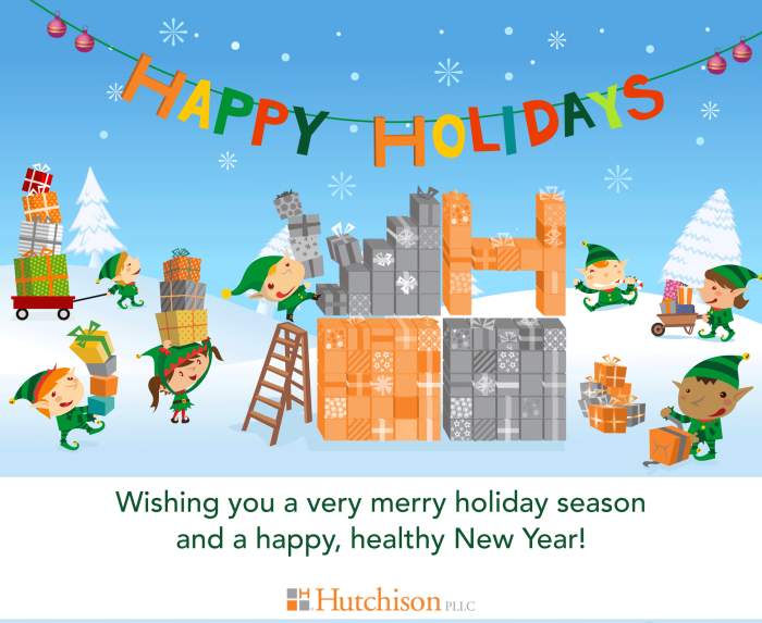 Happy Holidays from Hutchison PLLC