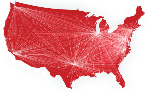 Business VoIP Coverage Map