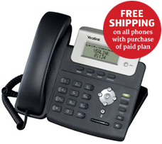 Free shipping on VoIP phones