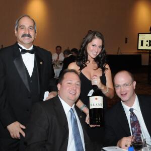 John Piseck  amp  Steve Naegele with the Grace Family Blank Vineyards