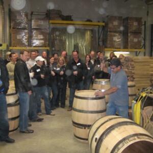 Barrels Being Made at Demptos Napa