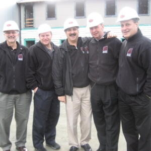 California Solicitation Team at the Contruction Site at Silver Oaks