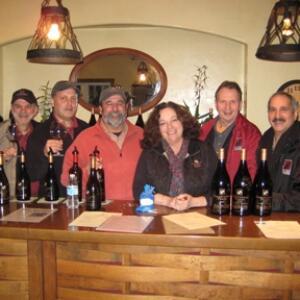 California Solicitation Team with Ben Papapietro  Renae Perry of Papapietro Perry Winery