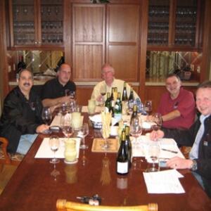 California Solicitation Team with Davis DeBois of Arrowood Vineyards