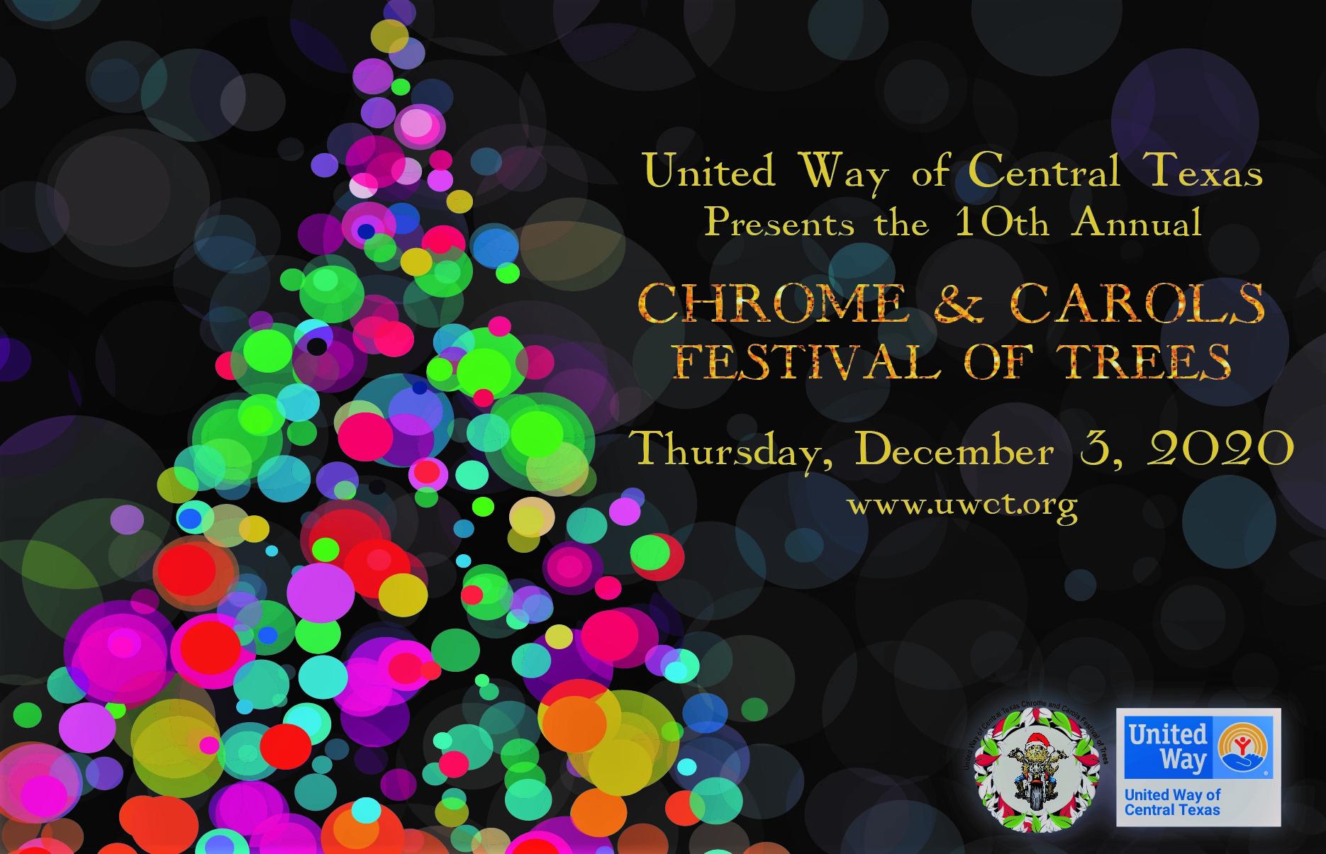 United Way Christmas Help 2020 Chrome & Carols   United Way of Central Texas