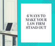 6 ways to make your law firm stand out