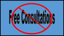 no free consultations