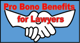 pro bono benefits for lawyers