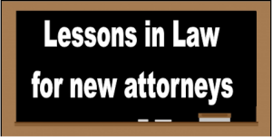 lessons in law