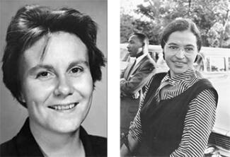 Harper Lee and Rosa Parks