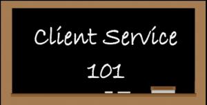 client service 101