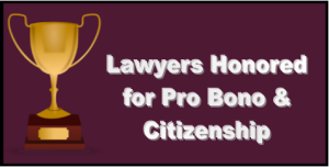 pro bono and citizenship awards