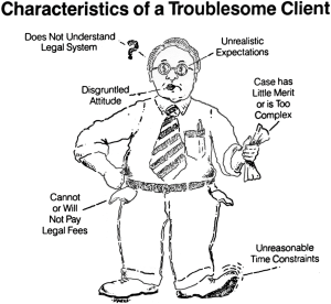 troublesome client