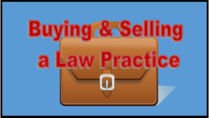 buying and selling a law practice