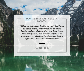 May is mental health month image